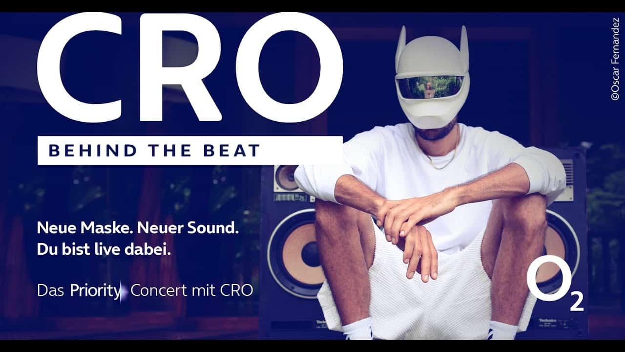 behind the beat x cro o2 priroty concert